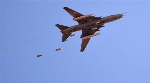 طائرة مجهولة تستهدق مواقع في سوريا (أرشيف)
