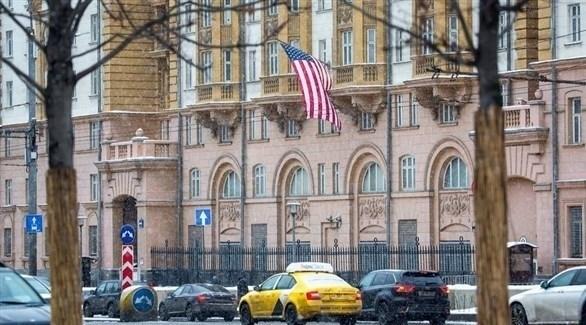 مقر السفارة الأمريكية في موسكو (أرشيف)