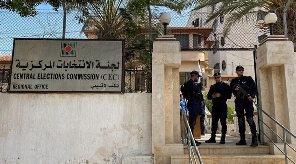 لجنة الانتخابات المركزية في فلسطيين (أرشيف)