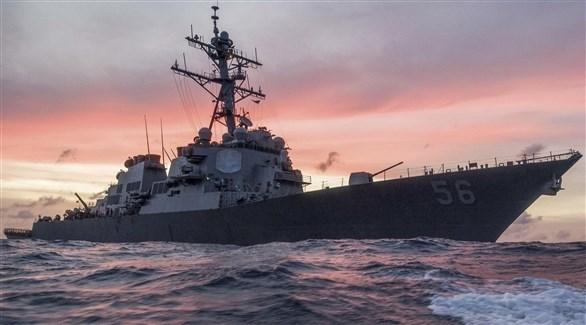 السفينة الحربية الأمريكية يو اس اس جون (أرشيف)