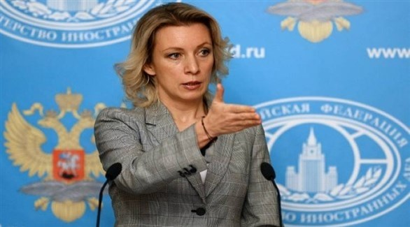 المتحدثة باسم الخارجية الروسية ماريا زاخاروفا (أرشيف)