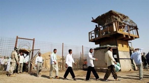 سجناء في سجن بغداد المركزي (أرشيف)