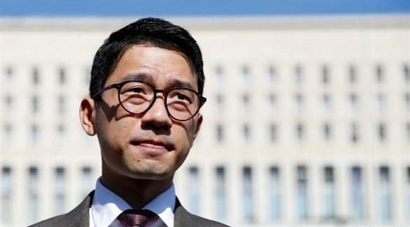 الناشط المعارض للصين في هونغ كونغ ناثان لو (أرشيف)