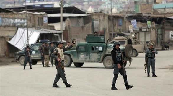 انتشار عناصر من الشرطة الأفغانية (أرشيف)