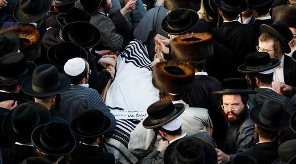 تشييع أحد ضحابا حادث التدافع (هيئة البث الإسرائيلية)