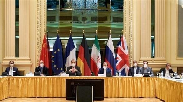 أطراف الاتفاق النووي في فيينا دون الولايات المتحدة الأمريكية (أرشيف)
