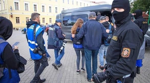 اعتقالات في بيلاروسيا (أرشيف)