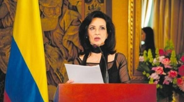 وزيرة خارجية كولومبيا كلوديا بلوم (أرشيف)