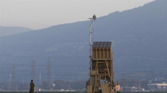 منصة صورايخ مضادة للصواريخ من نظام القبة الحديدية الإسرائيلي (أرشيف)