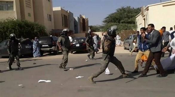 الشرطة الموريتانية تفرق بالقوة مظاهرة مؤيدة للفلسطينيين (أرشيف)