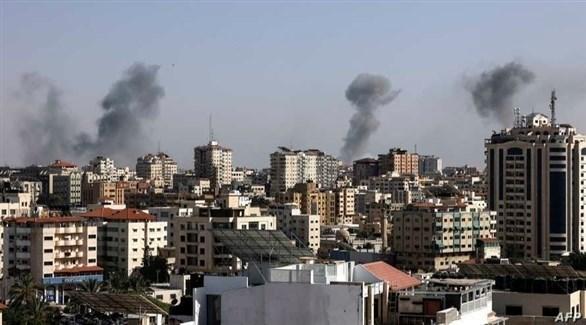 غارات إسرائيلية على قطاع غزة (أرشيف)