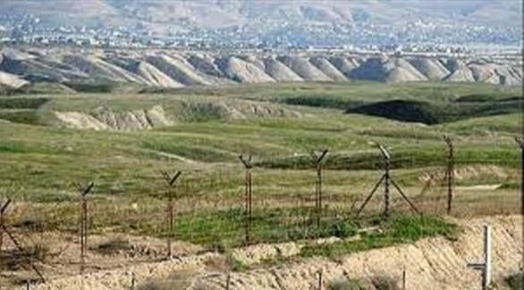 حدود أذربيجان مع إيران (أرشيف)