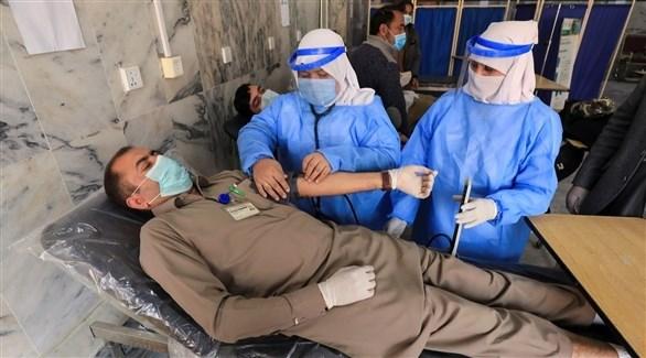 مستشفى للتعامل مع مصابي كورونا في باكستان (أرشيف)