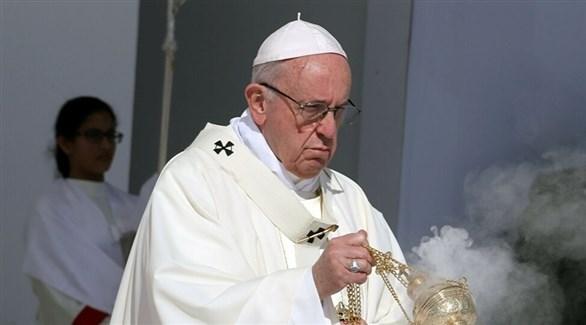 البابا فرنسيس بابا الفاتيكان (أرشيف)