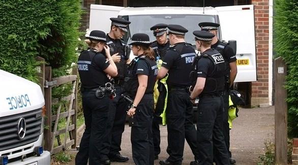 عناصر من الشرطة البريطانية (أ ف ب)
