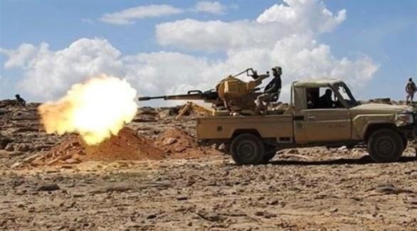 اشتباكات للجيش الوطني اليمني مع الميليشيات الحوثية (أرشيف)