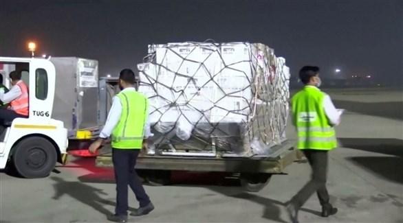 شحنة إمدادات طبية تصل للهند (أرشيف)