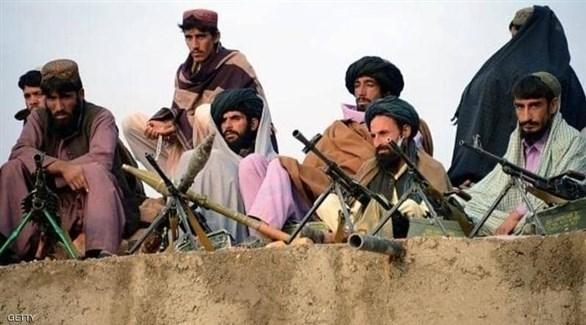 مسلحون من طالبان في أفغانستان (أرشيف)