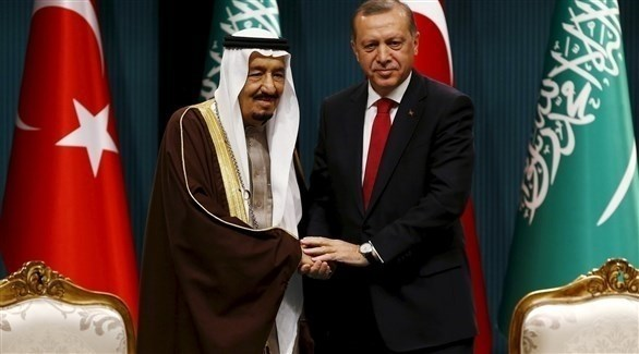 أردوغان والملك سلمان (أرشيف)