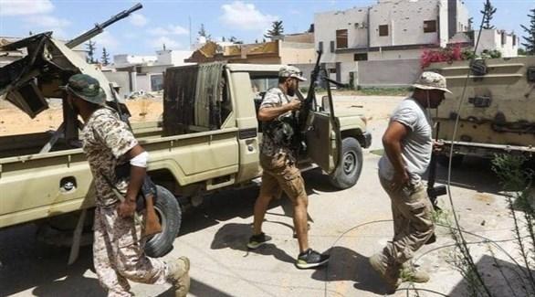 انتشار المرتزقة في ليبيا (أرشيف)