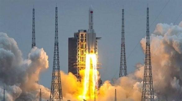 إطلاق صاروخ لونغ مارش 5 بي الصيني إلى الفضاء (أرشيف)