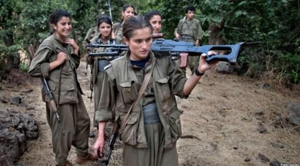 مسلحات كرديات في شمال العراق (أرشيف)