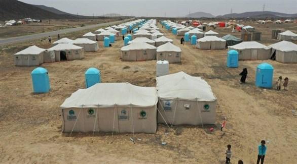 مخيم نازحين يمنيين في مأرب (أرشيف)