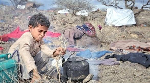 طفل يمني (عكاظ)