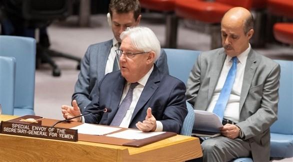 المبعوث الأممي إلى اليمن مارتن غريفيث (أرشيف)
