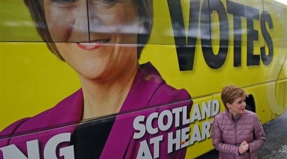 زعيمة الحزب الوطني الاسكتلندي نيكولا ستورجن (أرشيف)