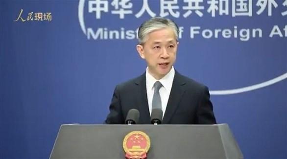 المتحدث باسم وزارة الخارجية الصينية وانغ وينبين (أرشيف)