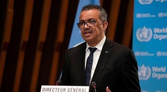 المدير العام لمنظمة الصحة العالمية، تيدروس أدهانوم جيبريسوس (أرشيف)