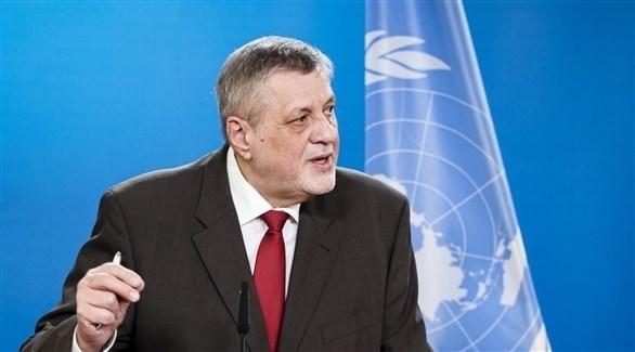 رئيس بعثة الأمم المتحدة للدعم في ليبيا يان كوبيش (أرشيف)
