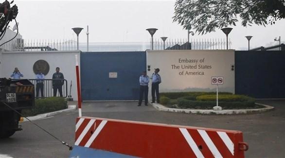 السفارة الأمريكية في الهند (أرشيف)