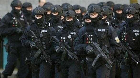 عناصر من قوة شرطة ألمانية خاصة (أرشيف)