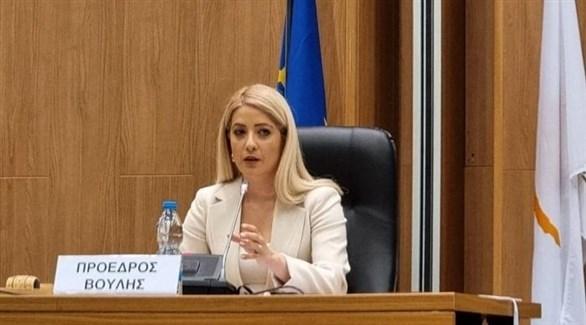 رئيسة مجلس النواب القبرصي الجديد أنيتا ديميتريو (أرشيف)