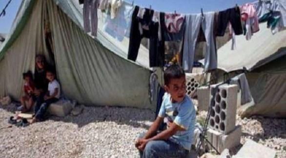 نازحين في إحدى مخيمات العراق (أرشيف)