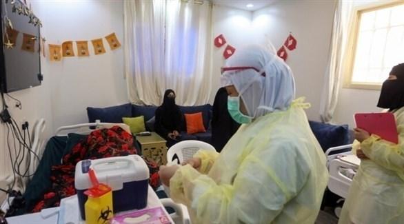 مركز للتطعيم ضد كورونا في السعودية (أرشيف)