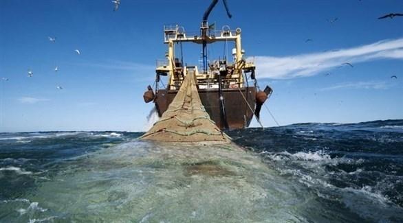 قارب صيد أوروبي في المياه الإقليمية المغربية (أرشيف)