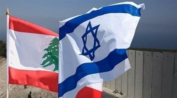 العلمان الإسرائيلي واللبناني (أرشيف)