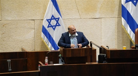 عضو الكنيست الإسرائيلي زعيم القائمة الموحدة منصور عباس (أرشيف)