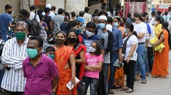 الهند تسجل 60 ألف إصابة جديدة بكورونا