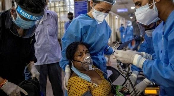 الهند تسجل 1183 وفاة جديدة بكورونا