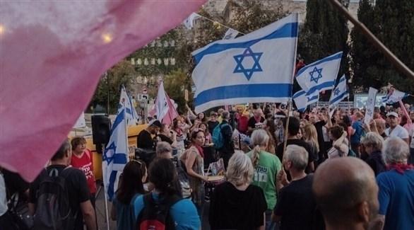 تظاهرات في تل أبيب (نيويورك تايمز)