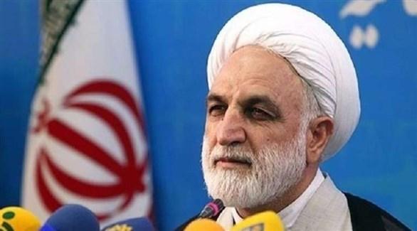 رئيس السلطة القضائية في إيران غلام حسين محسني إجئي (أرشيف)