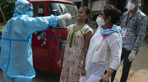 الهند تسجل 38079 إصابة جديدة بفيروس كورونا