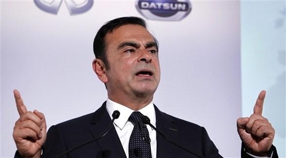 رئيس شركة نيسان السابق كارلوس غصن (أرشيف)