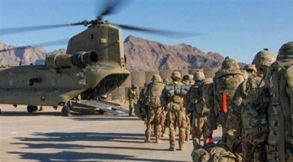 جنود أمريكيون خلال مغادرتهم أقغانستان (أرشيف)