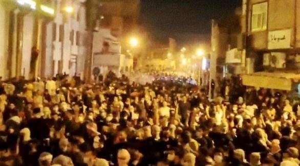 تظاهرات في إيران ضد انقطاع المياه (أرشيف)