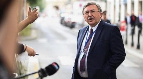 مبعوث روسيا إلى المحادثات النووية الإيرانية ميخائيل أوليانوف (أرشيف)